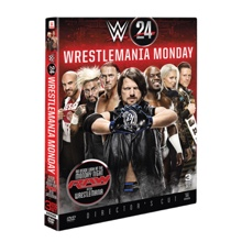 WWE 24: WrestleMania Monday DVD