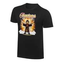 """WWE x NERDS Bobby Roode """"I Won't Give In"""" Cartoon T-Shirt"""