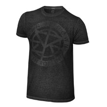 "Seth Rollins ""Burn it Down"" Acid Wash T-Shirt"
