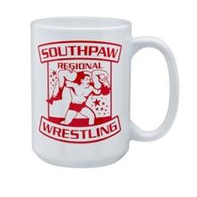 Southpaw Regional Wrestling 15 oz. Mug