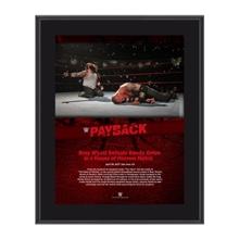 Bray Wyatt Payback 2017 10 x 13 Commemorative Photo Plaque