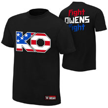 """Kevin Owens """"The New Face of America"""" Authentic T-Shirt"""
