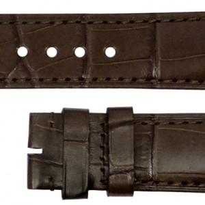Baume et Mercier 25mm Dark Brown Alligator Strap MX0030GC