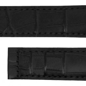 Baume & Mercier 18mm Black Crocodile Strap MX001G36