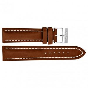 Breitling 22mm Brown Leather Strap 433X