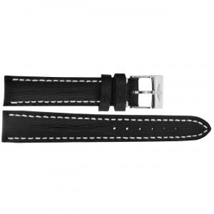Breitling 16mm Black Leather Strap 208X