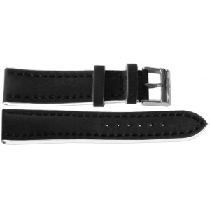 Breitling 20mm Black Leather Strap 222X