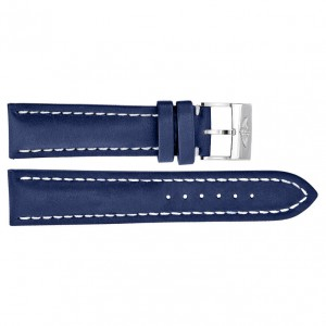Breitling 24mm Blue Leather Strap 101X