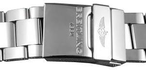 Breitling 22mm Professional III Polished Steel Bracelet 170A