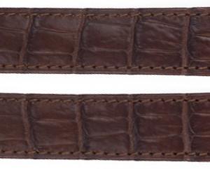 Cartier 24mm Brown Crocodile Strap KD4M2M52