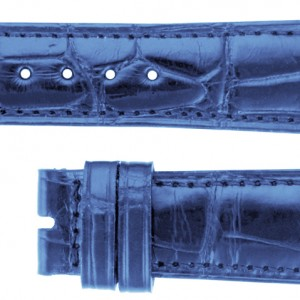 Chopard 14mm Blue Alligator Strap CBLC14