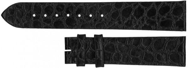 Longines 18mm Black Alligator Strap LBGAS18