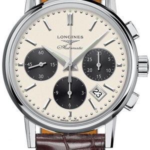 Longines Heritage Column-Wheel Chronograph L2.733.4.02.2