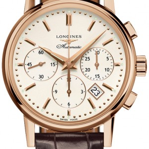 Longines Heritage Column-Wheel Chronograph L2.733.8.72.2