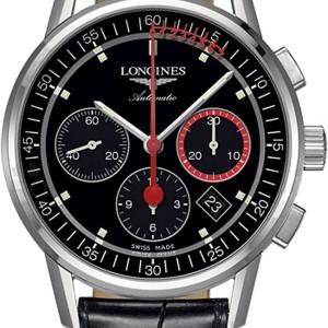 Longines Heritage Column-Wheel Chronograph L4.754.4.52.4