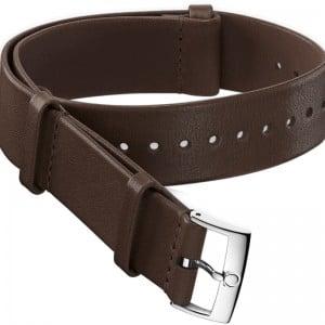 Omega 20mm Dark Brown Leather NATO Strap 031CUZ010753