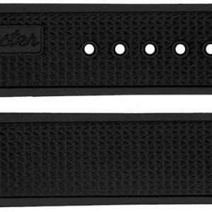 Omega Speedmaster Racing 19mm Black Rubber Strap 98000416
