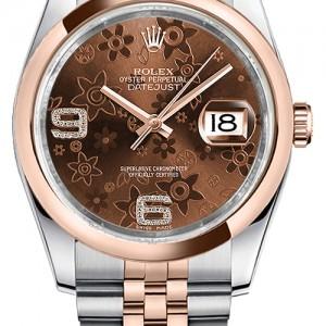 Rolex Datejust 36 Steel & Rose Gold Watch 116201