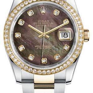 Rolex Datejust 36 Women's Pearl Watch 116243