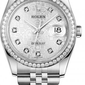 Rolex Datejust 36 Diamond Women's 116244