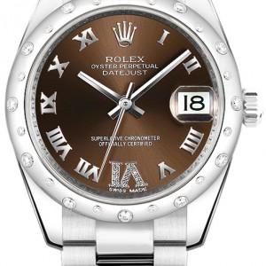 Rolex Datejust 31 Bronze Dial Watch 178344