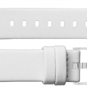 TAG Heuer 17mm White Satin Strap BC0840
