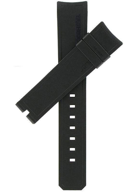 TAG Heuer Aquaracer 20mm Black Rubber Strap FT8009