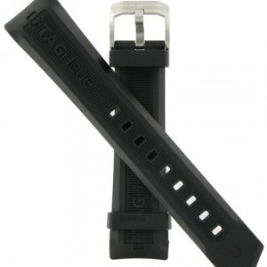 TAG Heuer Aquaracer 20mm Black Rubber Strap BT0710