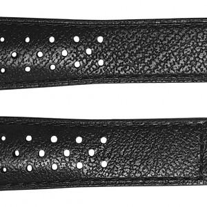 TAG Heuer Monaco 22mm Black Leather Strap FC6356