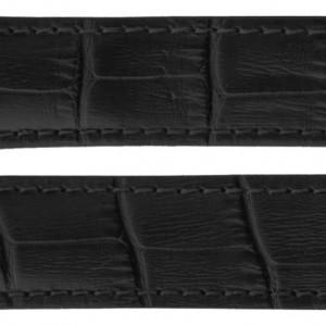 TAG Heuer Carrera 19mm Black Alligator Strap FC6180