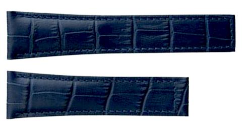 TAG Heuer Carrera 19mm Blue Alligator Strap FC6293