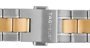 TAG Heuer Carrera 18mm Gold & Steel Bracelet BD0797