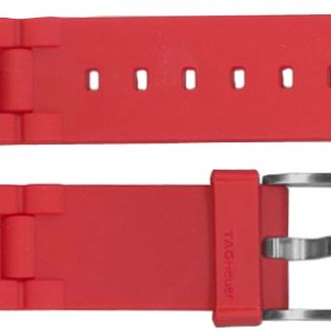 TAG Heuer Formula 1 Red Rubber Strap BT0706