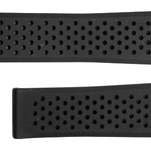 TAG Heuer Grand Carrera 22mm Black Rubber Strap FT6016
