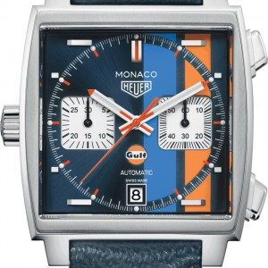 TAG Heuer Monaco Blue Dial Men's Watch CAW211R.FC6401