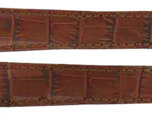 TAG Heuer Monza Brown Alligator Strap FC6165 / FC6176