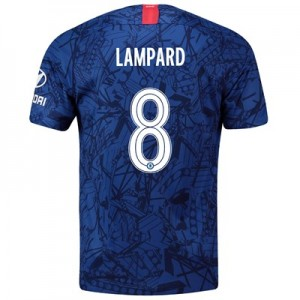 Chelsea Home Cup Stadium Shirt 2019-20 with Lampard 8 printing