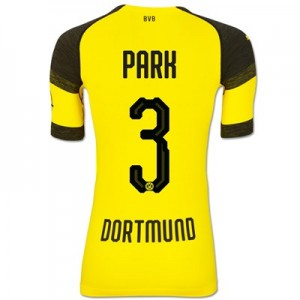 BVB Authentic evoKNIT Home Shirt 2018-19 with Park 3 printing