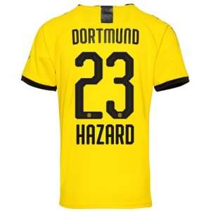 BVB Home Shirt 2019-20 – Kids with Hazard 23 printing