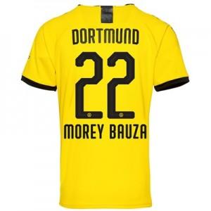 BVB Home Shirt 2019-20 – Kids with Morey Bauza 22 printing