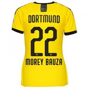 BVB Home Shirt 2019-20 – Womens with Morey Bauza 22 printing