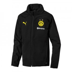 BVB Training Rain Jacket – Black