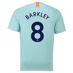 Chelsea Third Stadium Shirt 2018-19 with Barkley 8 printing