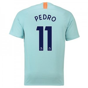 Chelsea Third Stadium Shirt 2018-19 with Pedro 11 printing