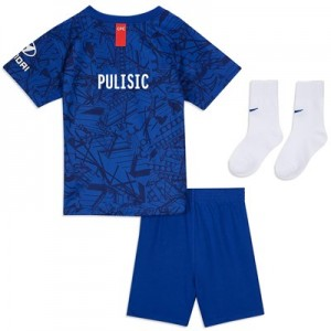 Chelsea Home Cup Stadium Kit 2019-20 – Infants with Pulisic 22 printing