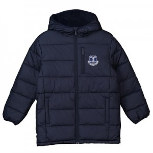 Everton Core Padded Jacket – Navy – Junior Boys