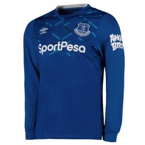 Everton Home Shirt 2019-20 - Long Sleeve