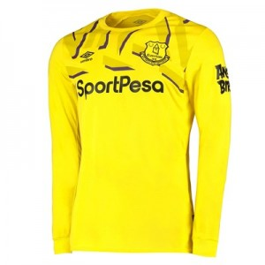 Everton Goalkeeper Home Shirt 2019-20 - Long Sleeve