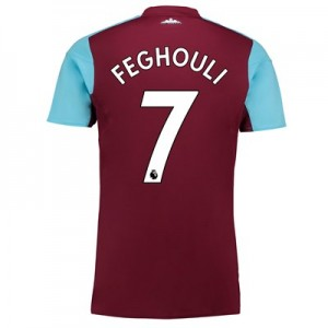 West Ham United Home Shirt 2017-18 with Feghouli 7 printing