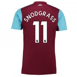 West Ham United Home Shirt 2017-18 with Snodgrass 11 printing